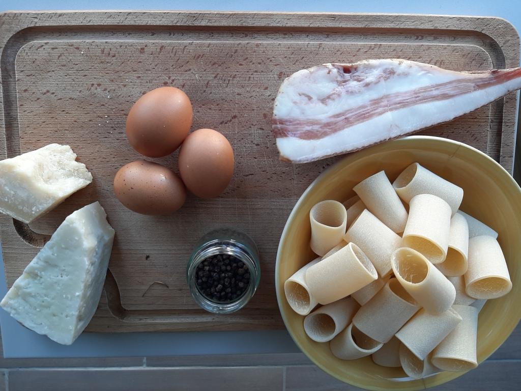 Le génie des italiens, peu d'ingrédients pour un plat somptueux